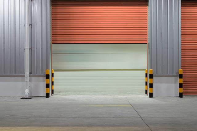 Garage Concrete Floors of a storage unit